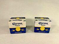 Corona porcelain salt and pepper shakers promotional