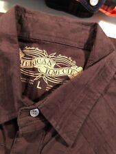 American Rag Brown Shirt, Size Lg, Long Sleeve