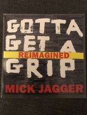 "MICK JAGGER (ROLLING STONES) ""GOTTA GET A GRIP"" REIMAGINED 1 TRACK CD PROMO"