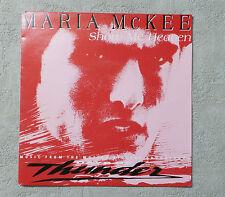 """DISQUE VINYL 45 T SP MUSIQUE/ MARIA MCKEE """"SHOW ME HEAVEN"""" 1990 7"""" 45 RPM EPIC"""