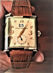 Girard Perregaux crocodile strap watch band MIT Cheergiant straps芝柏錶鱷魚皮手工錶帶