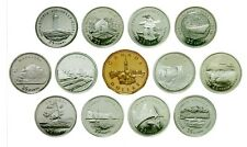 CANADA COINS, 1992 125th ANNIV. COMMERATIVE SET OF 13 COINS UNC FROM ROLL.