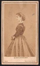Adelina Patti. Cantatrice italienne. Photographe Reutlinger. Vers 1865. Opera