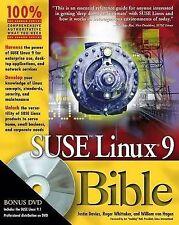 SUSE Linux 9 Bible, von Hagen, William, Whittaker, Roger, Davies, Justin, New Bo