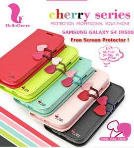 SAMSUNG GALAXY S4 I9500 CHERRY SERIES CASE / COVER - EXCLUSIVE EDITION - NEW