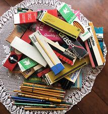 Huge Vintage Wood Pencil Lot Dixon KOH-I-Noor Faber Castell Eagle Berol @ More