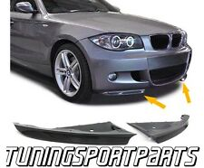 CARBON FLAPS BUMPER FOR BMW E81 E87 07-10 SERIES 1 M-PACKET BODY KIT SPOILER NEW