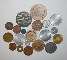Exonumia Medals Tokens Pieces Lot of 20