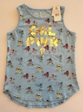 NEW Girl's Power Rangers GRL PWR Tank Top Girl Power ▪Youth Size XL (14-16)