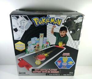 Pokemon City Battle Playset Jakks Pacific 2011 Complete New Open Box