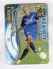 figurina PANINI CALCIO CARDS GAME 2005-06 N. 36 EMPOLI ALMIRON