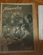New listing 1942 WWII HUNGARY ARMY MAGAZINE NEWSPAPERS MAGYAR ERO KARACSONY CHRISTMAS German