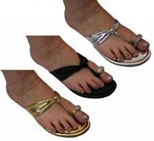 Donna Velenta Flip Flops Synthetic Shoes for Women