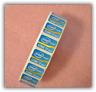 10x DESKTOP Intel Core i7 Inside Sticker 2/3 Gen 24.5 x 18mm Blue Badge USA ship