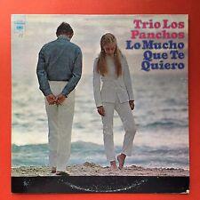 Trio Los Panchos Lo Mucho Que Te Quiero COLUMBIA 1969  Puerto Rico Mint-