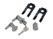 Mustang Door & Ignition Lock Barrel Cylinder Set Pony Keys 1964 1965 1966 65 66