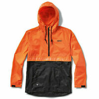 Vans x NASA Space Anorak Jacket Orange Black Men Limited Edition New VN0A3W7AXH7