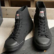 VISION STREET WEAR Skateboards Sneakers CANVAS HI Black VSW-8150 Limited Skater