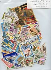 STAMP TIMBRE COLONIES FRANCAISES  LOT CENTRAFICAINE 260 TIMBRES COTE 342 €