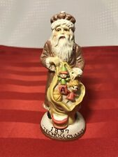 "Santas From Around The World 5 1/2"" Porcelain Figure 1897 Czech Czechoslovakia"