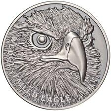 1 $ Dollar Wildlife Close-Up Wedge Tailed Eagle Niue Island 1 oz Silber 2019