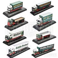 Eddie Stobart Trucks Vans Diecast Models 1/76 Scale Scania MAN Volvo Ford Atlas