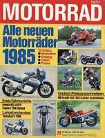 4753D Motorrad 1984 21/84 Laverda 1000 SFC Cagiva Elefant 650 Guzzi V65TT NS400R