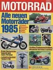 Motorrad 21 84 1984 Cagiva Elefant 650 Laverda 1000 SFC Moto Guzzi V65TT NS400R