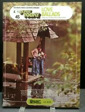 EZ Play Today #45 Love Ballads Sheet Music Song Book Piano Organ Keys 1970s M19