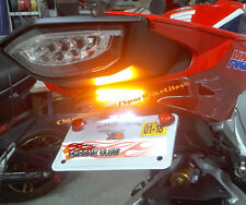 Honda CBR1000RR (2017+) STD Red LED Light Bar Fender Eliminator; Red Lens