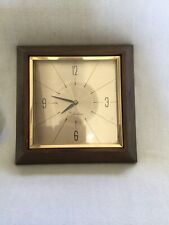 Sears Roebuck and Co. Model No 47578 Vintage Tradition Wooden Wall Clock Repair