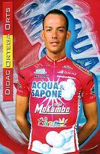 CYCLISME carte cycliste DIDAC ORTEGA ORTS équipe ACQUA SAPONE
