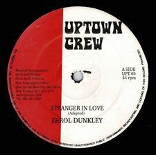 "ERROL DUNKLEY-stranger in love   uptown crew 12""   (hear)  reggae digi"