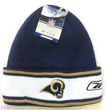 NWT NFL St. Louis Rams Reebok Winter Knit Cuffed Hat Cap NEW!