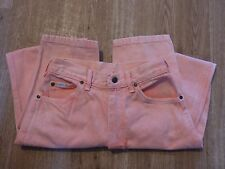 Vintage Lee Made in USA Peach Jeans Kids 14REG United Garment Workers of America