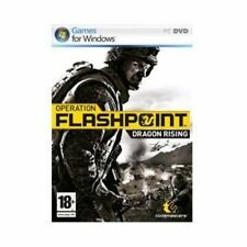 Operation Flashpoint Dragon Rising PC Game Military Simulation Shooter