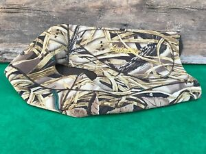 USED CABELAS DOG HUNTING VEST ADVANTAGE WETLANDS CAMO LARGE NEOPRENE USA!