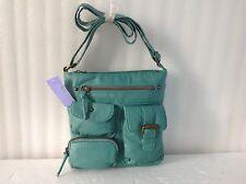 Claire's Green Women's Juniors Messenger Bag Girl's Handbag Crossbody Purse New