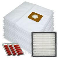 15 Bags + H13 HEPA Filter for Nilfisk King GM500 GM510 GM520 GM530 Vacuum Fresh