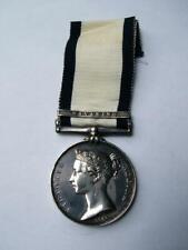 Victorian Naval General Service medal Navarino G Man ORD HMS Albion of Liverpool
