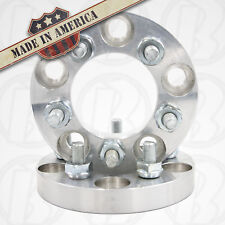 "2 USA Made Ford Mustang 1994-2014 5x4.50 3/4"" Wheel Spacer 1/2 Studs & Lug Nuts"