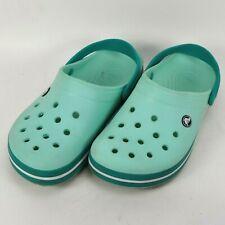Crocs Crocband Clog Shoes Womens Size 11 US Melon Green 11016