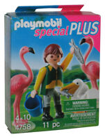 Playmobil Special Plus Zookeeper with Exotic Birds Building Toy Figure Set 4758