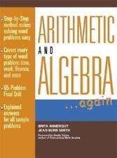 Arithmetic and Algebra Again (Schaum's Paperbacks)-ExLibrary
