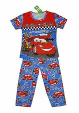 NEW! BOY'S LOUNGE/SLEEPWEAR PAJAMA SET (BLUE CARS, SIZE 7-8Y)