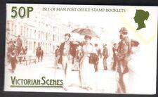 Island Of Man Stamp Booklet Sachet 50p Victorian Scenes MNH