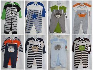 NWT Carters Baby Infant Boys 3 Piece Bodysuits & Pants Set 6 Months