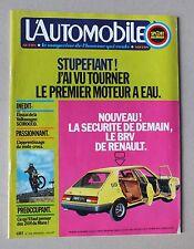 L AUTOMOBILE - SPORT MECANIQUE - MENSUEL N° 338 - JUILLET 1974 *