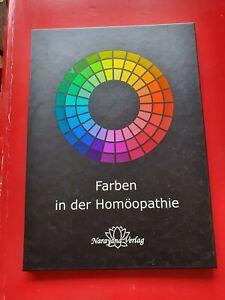 Farbtafeln von Ulrich Welte *Farben in der Homöopathie* - Leporello