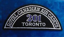 CANADA Royal Canadian Air Cadets TORONTO 201 squadron shoulder flash